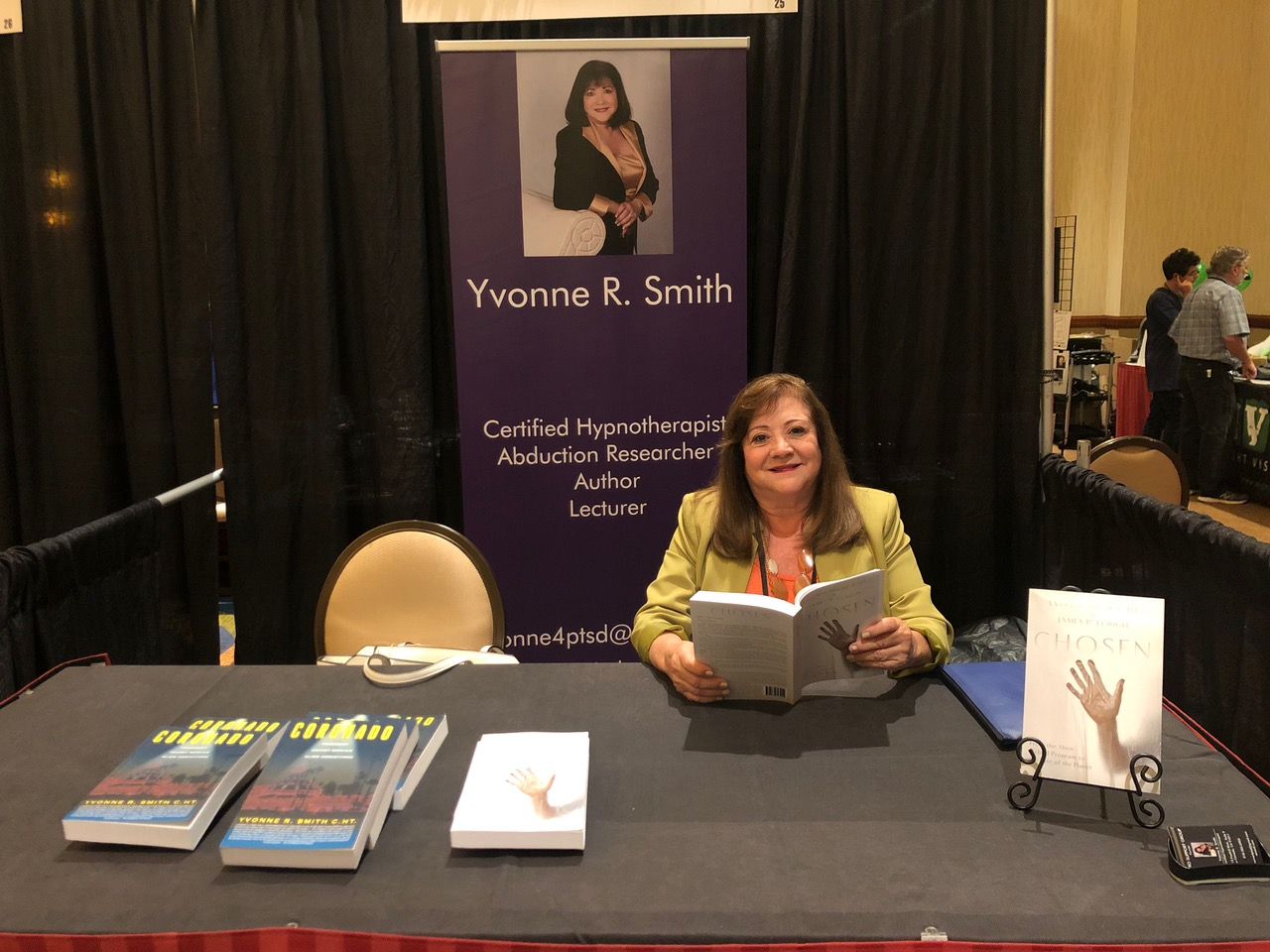 Yvonne At Book Table Congress 2019 JPEG